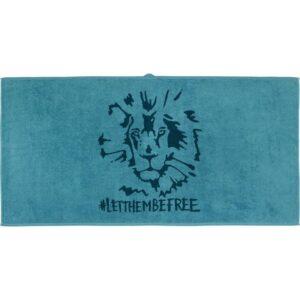 УРСКОГ Банное полотенце лев/синий 70x140 см - Артикул: 803.939.42