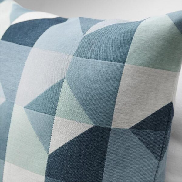 СВАРТХО Чехол на подушку зеленый/синий 50x50 см - Артикул: 404.095.01