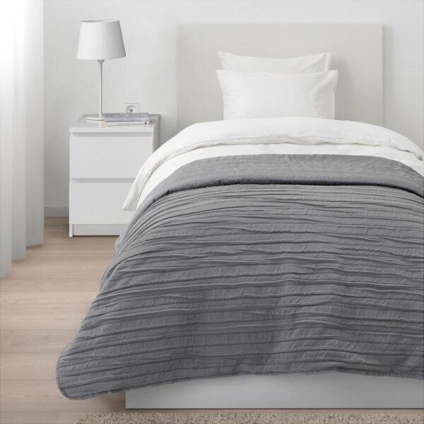 ВЕКЕТОГ Покрывало серый 180x250 см - Артикул: 304.000.49