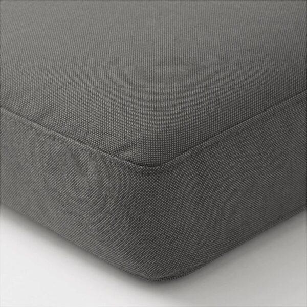 ФРЁСЁН/ДУВХОЛЬМЕН Подушка на сиденье,д/садовой мебели темно-серый 62x62 см - Артикул: 692.530.85