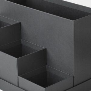 ТЬЕНА Подставка д/канцелярских принадлежн черный 18x17 см - Артикул: 603.954.90