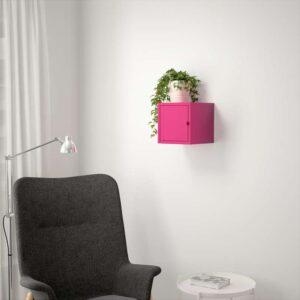 ЛИКСГУЛЬТ Шкаф металлический/розовый 25x25 см - Артикул: 803.996.61