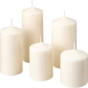 ФЕНОМЕН Неароматическая формовая свеча 5шт естественный - Артикул: 303.779.49