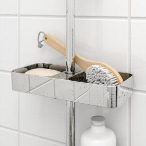 БРОГРУНД Полка для ванной хромированный 25x4 см - Артикул: 703.517.87