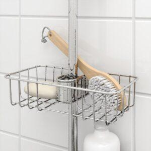 ВОКСНАН Полка для ванной хромированный 25x6 см - Артикул: 503.517.88