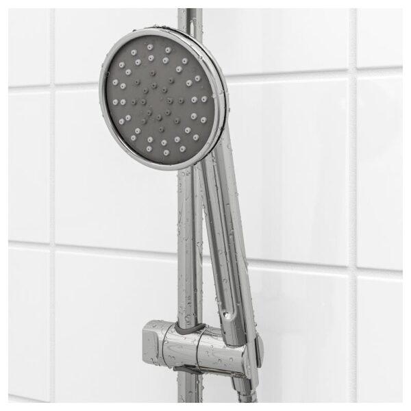 ВОКСНАН Душевая штанга с ручным душем, хромированный - Артикул: 603.472.44