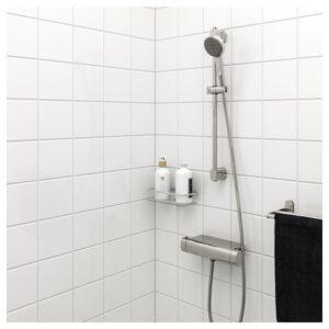 БРОГРУНД Душевая штанга с ручным душем, хромированный - Артикул: 503.472.30