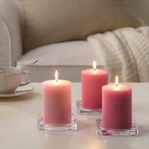 БЛОМДОРФ Формовая свеча, ароматическая Пион/розовый 10 см - Артикул: 103.705.43