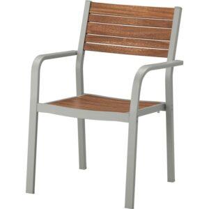 ШЭЛЛАНД Садовое кресло светло-серый/светло-коричневый - Артикул: 804.053.46