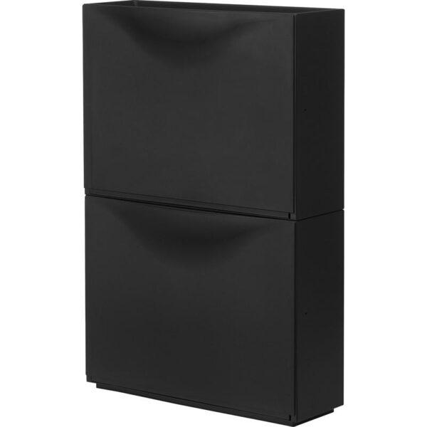 ТРОНЭС Галошница/шкаф черный 52x39 см - Артикул: 603.973.14