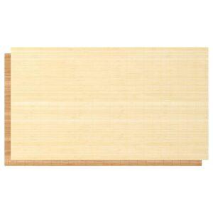 ФЬЕЛЬХАМАР 4 панели д/рамы раздвижной дверцы бамбук/двусторонний 100x236 см - Артикул: 703.738.69