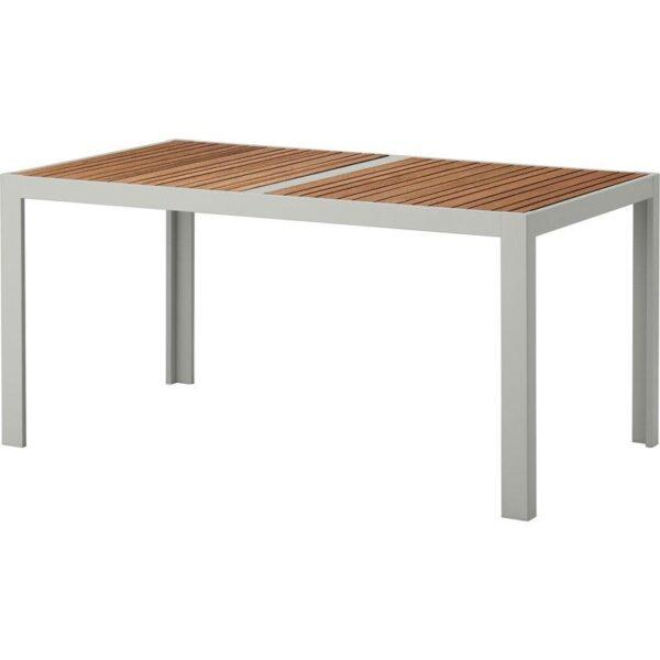 ШЭЛЛАНД Садовый стол светло-коричневый/светло-серый 156x90 см - Артикул: 392.624.49