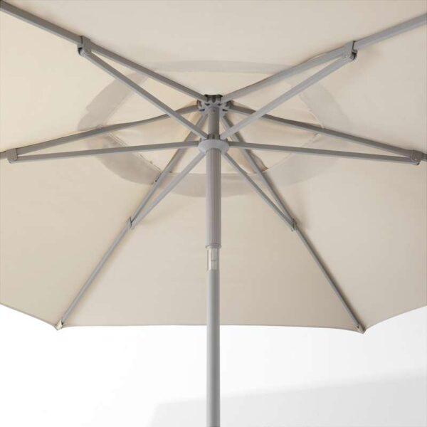 КУГГЁ / ЛИНДЭЙА Зонт от солнца бежевый 300 см - Артикул: 792.674.64