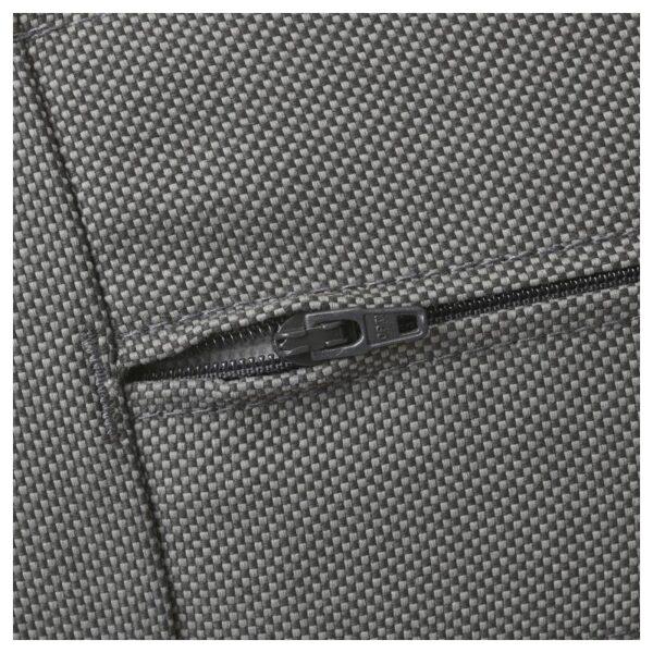КУНГСХОЛЬМЕН Модульный угл 3-мест диван, садовый, черно-коричневый/ФРЁСЁН/ДУВХОЛЬМЕН темно-серый - Артикул: 492.582.63