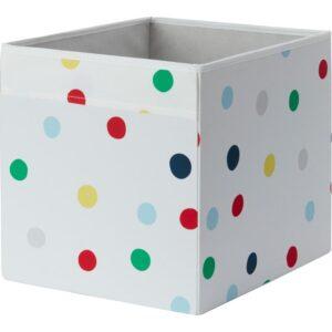 ДРЁНА Коробка точечный 33x38x33 см - Артикул: 104.281.48