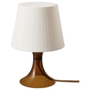 ЛАМПАН Лампа настольная, коричневый 29 см - Артикул: 103.990.61