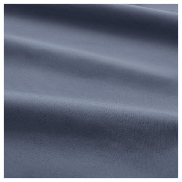 СЁМНТУТА Натяжная простыня д/тонкого матраса, сине-серый 160x200 см. Артикул: 304.126.55