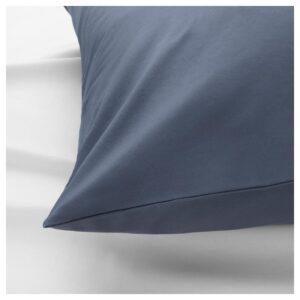 СЁМНТУТА Наволочка, сине-серый 50x70 см. Артикул: 104.157.25