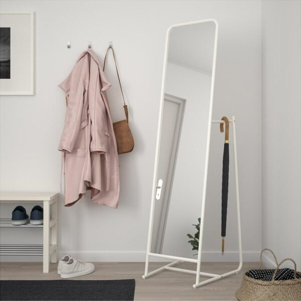 КНАППЕР Зеркало напольное белый 48x160 см - Артикул: 203.962.41