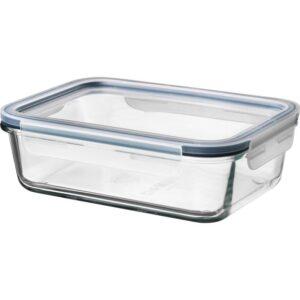 ИКЕА/365+ Контейнер для продуктов с крышкой прямоугольн формы стекло/пластик стекло 1.0 л - Артикул: 492.690.73