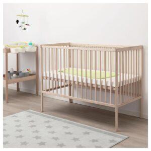 СНИГЛАР Кроватка детская, бук 60x120 см - Артикул: 504.212.20