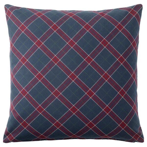 ИНГЕРИЛЬЗЕ Чехол на подушку синий/красный 50x50 см - Артикул: 304.108.02