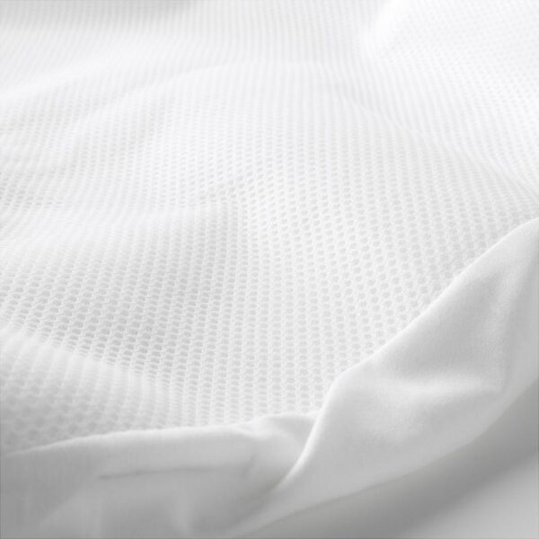 ЛЕНАСТ Наматрасник,водоотталкивающий белый 60x120 см - Артикул: 403.734.13