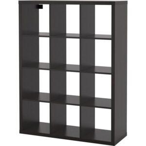 КАЛЛАКС Стеллаж черно-коричневый 112x147 см - Артикул: 804.099.38