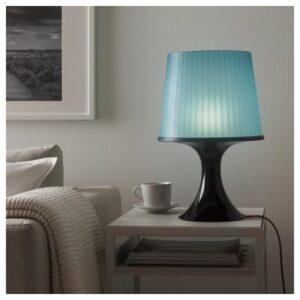 ЛАМПАН Лампа настольная, темно-синий 45 см - Артикул: 103.561.65
