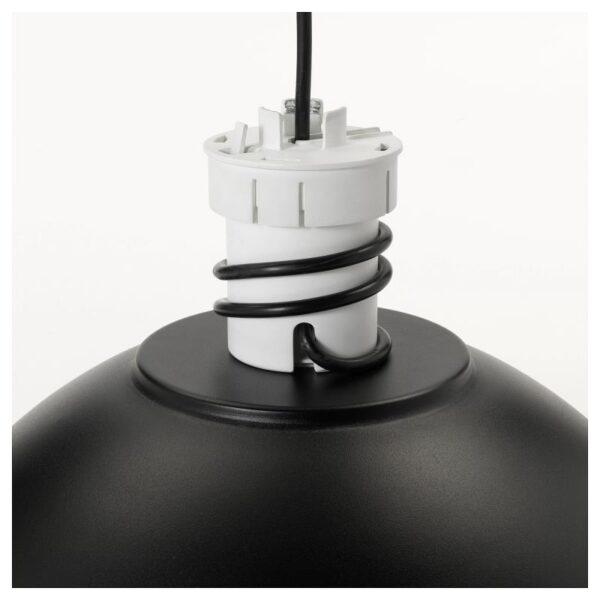 СКУРУП Подвесной светильник, черный 38 см - Артикул: 204.071.26