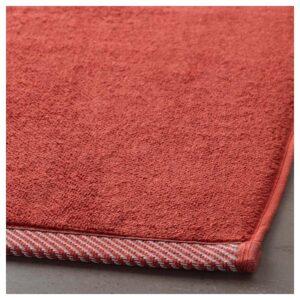 ВИКФЬЕРД Коврик для ванной, красный 50x80 см - Артикул: 004.099.18