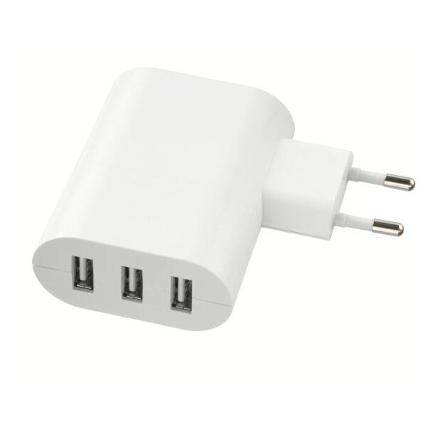 КОПЛА Зарядное устройство/3 USB-порта белый - Артикул: 804.150.34