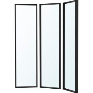 НИССЕДАЛЬ Комбинация зеркал черный 130x150 см - Артикул: 992.753.02