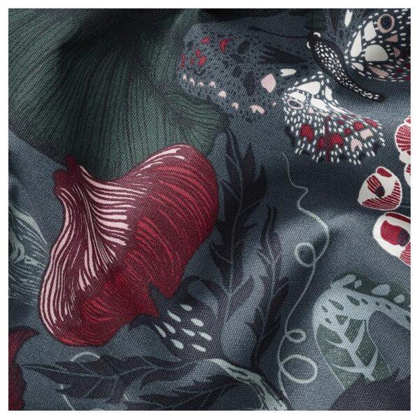 ФИЛОДЕНДРОН Ткань темно-синий/с цветочным орнаментом 150 см - Артикул: 104.206.04