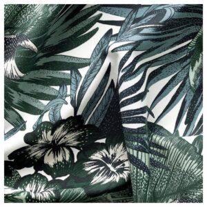 ТОРГЕРД Ткань бел/зелен 150 см - Артикул: 604.206.06