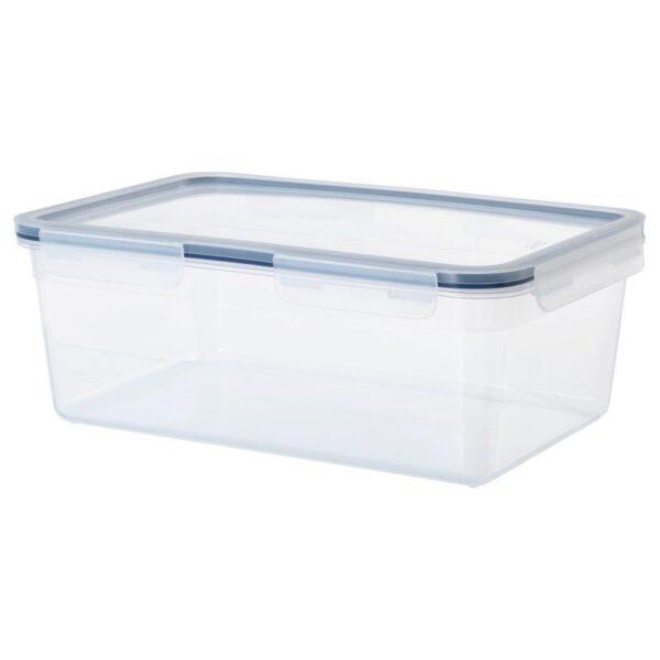 ИКЕА/365+ Контейнер для продуктов с крышкой прямоугольн формы/пластик 5.2 л - Артикул: 692.767.89