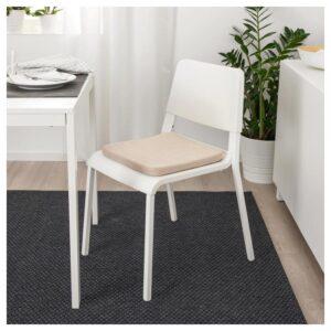 ХИЛЛАРЕД Подушка на стул, бежевый 36x36x3.0 см - Артикул: 604.165.91