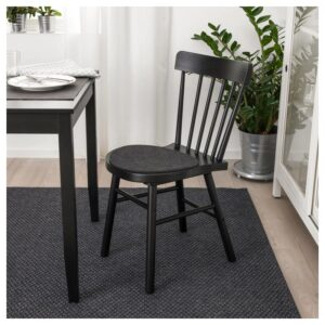 ОДДБЬЁРГ Подушка на стул, серый 35 см - Артикул: 803.952.10
