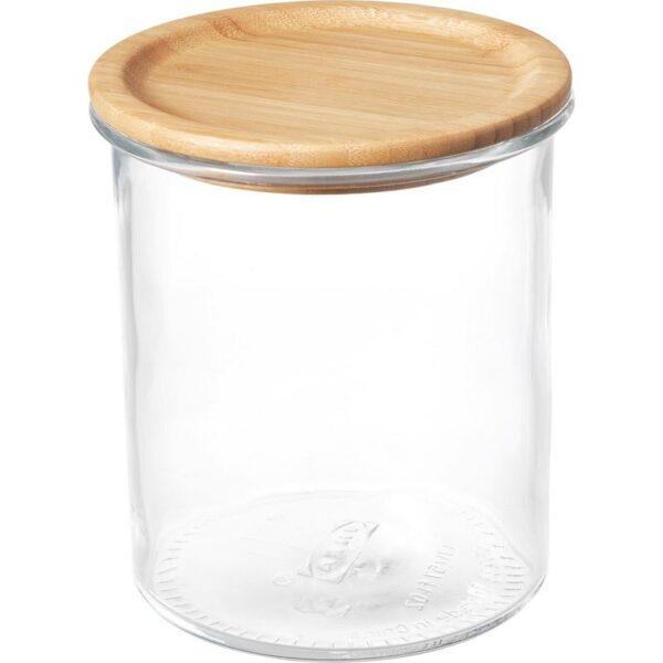 ИКЕА/365+ Банка с крышкой стекло/бамбук 1.7 л - Артикул: 992.767.83