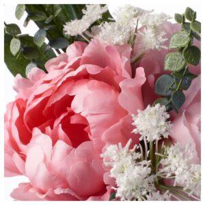 СМИККА Искусственный букет розовый 25 см - Артикул: 204.098.42