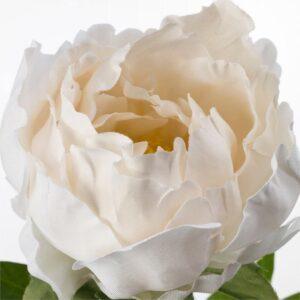СМИККА Цветок искусственный Пион/белый 30 см - Артикул: 904.097.30