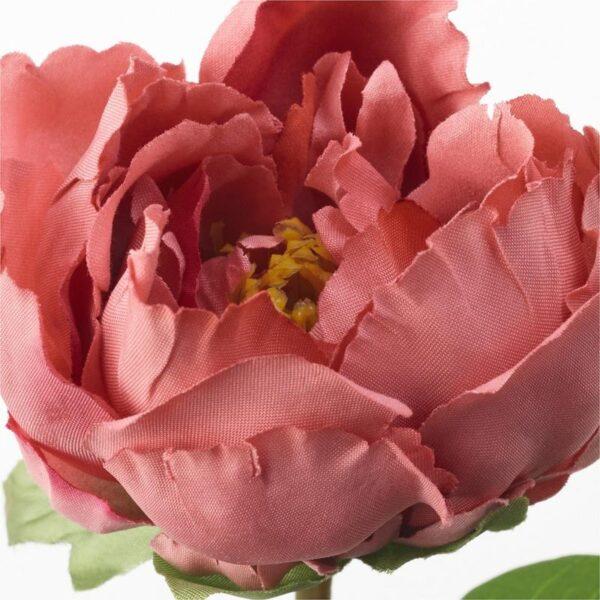 СМИККА Цветок искусственный Пион/темно-розовый 30 см - Артикул: 904.097.49