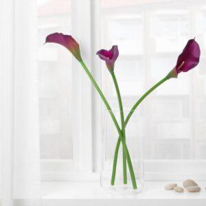 СМИККА Цветок искусственный Зантедеския/фиолетовый 67 см - Артикул: 004.097.77