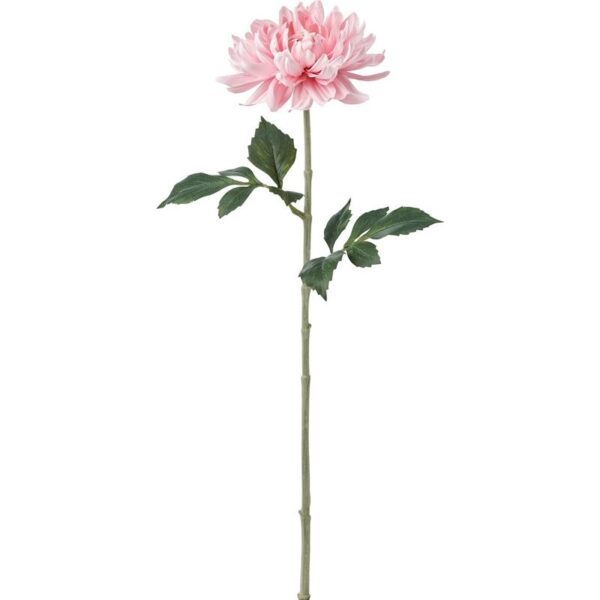 СМИККА Цветок искусственный Георгин/светло-розовый 75 см - Артикул: 104.097.34