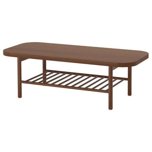 ЛИСТЕРБИ Журнальный стол коричневый 140x60 см - Артикул: 104.177.86