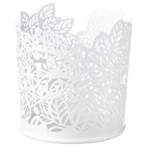 САМВЕРКА Подсвечник для греющей свечи белый 8 см - Артикул: 703.887.24