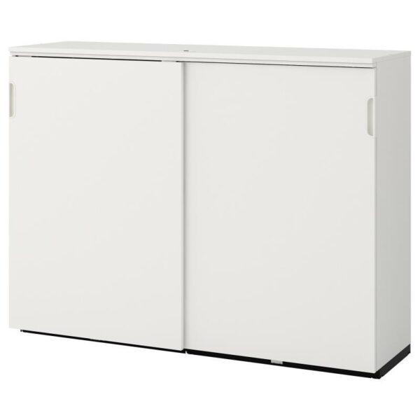 ГАЛАНТ Шкаф с раздвижными дверцами белый 160x120 см - Артикул: 603.651.48