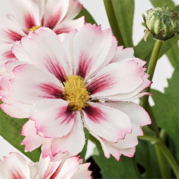 ФЕЙКА Искусственное растение в горшке д/дома/улицы розовый 9 см 3 шт - Артикул: 603.953.34