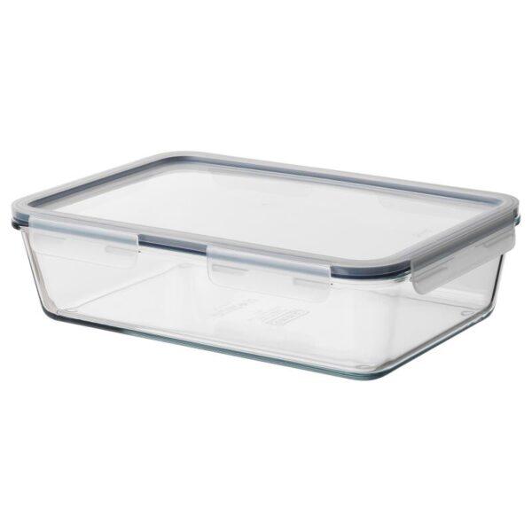 ИКЕА/365+ Контейнер для продуктов с крышкой прямоугольн формы/стекло пластик 3.1 л - Артикул: 092.768.05