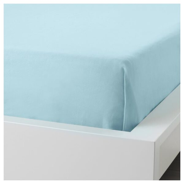 ДВАЛА Простыня, голубой 240x260 см. Артикул: 704.236.71